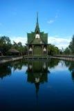 Les reliques de Bouddha de pagoda de Chaiya Photographie stock libre de droits