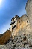 Les remparts du castelnaud se retranchent dans le Perigord dans les Frances photographie stock