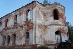 Les restes de l'église Photographie stock