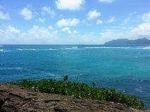 Les rivages des séries de Honolulu Photographie stock