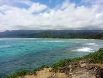 Les rivages des séries de Honolulu Photo libre de droits