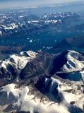 Les rivages du Groenland Images libres de droits