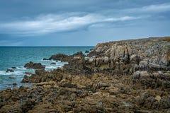 La cote sauvage - rocks in northern France