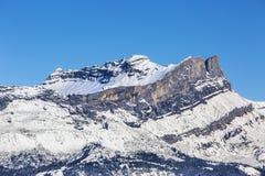 Les Rochers des Fiz -The French Alps Stock Photo