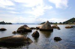 Les roches Photo libre de droits