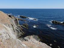 Les roches autour d'Ahtopol Image stock