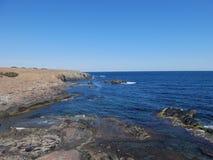 Les roches autour d'Ahtopol Photo stock