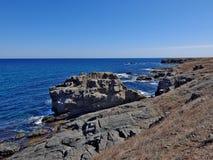 Les roches autour d'Ahtopol Photo libre de droits