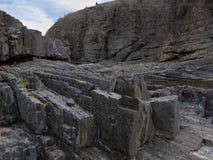 Les roches d'Ahtopol antique Photos stock