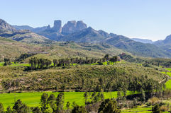 Les roches d'Els Ports Natural Park dedans image libre de droits