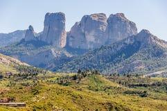 Les roches d'Els Ports Natural Park dedans photographie stock