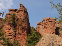 Les roches de Belogradchik et le x28 ; Bulgaria& x29 ; Photos stock