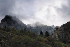 Les roches de Chigenitra Image libre de droits
