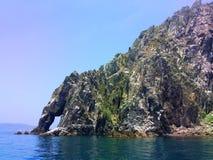 Les roches de mer Images libres de droits
