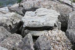 Les roches N bascule des roches de N Image stock