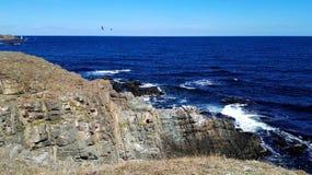 Les roches près d'Ahtopol Photographie stock libre de droits