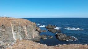 Les roches près d'Ahtopol Photos libres de droits