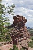 Les roches rouges stationnent, le Colorado Image libre de droits