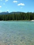 Les Rocheuses - fleuve glaciaire 2 Photographie stock