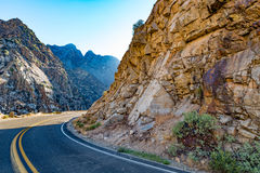 Les Rois Canyon Scenic Byway Photos stock