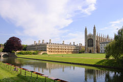 Les Rois College et chapelle, Cambridge image libre de droits