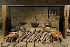 Les Rois cuisine de château de Douvres Photos stock