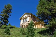 Les Rois House chez Schachen Images stock
