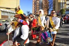 Les Rois magiques Parade Images libres de droits