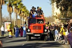 Les Rois magiques Parade Photo stock