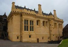 Les Rois Residence Within Stirling Castle image libre de droits
