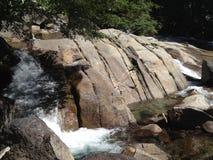 Les Rois River en parc national des Rois Canyon Image libre de droits