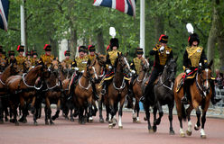 Les Rois Troop Royal Horse Artillery Photo stock