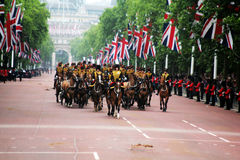 Les Rois Troop Royal Horse Artillery Photo libre de droits
