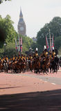Les Rois Troop Royal Horse Artillery Photos libres de droits