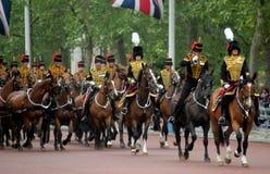 Les Rois Troop Royal Horse Artillery Photographie stock