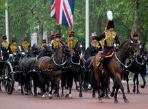 Les Rois Troop Royal Horse Artillery Image libre de droits