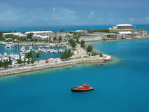 Les Rois Wharf Bermudes Photos stock