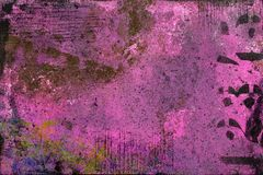 Les roses indien soustraient le fond avec des couches peintes images stock