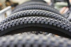 Les roues de bicyclette Images libres de droits