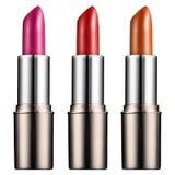 Les rouges à lèvres 3d rendent Photo libre de droits
