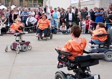 Les rouleaux de Rhinestone au festival de liberté Images libres de droits