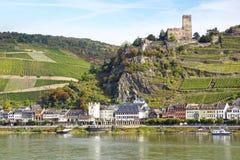 Burg Gutenfels. image libre de droits