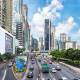 Les routes de Hong Kong Photographie stock libre de droits