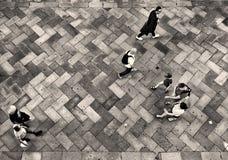 les routes de Venise image stock