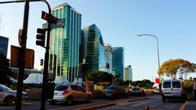 Les rues de Buenos Aires image libre de droits