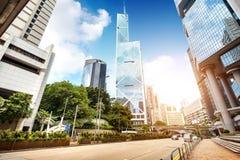 Les rues de Hong Kong Image libre de droits