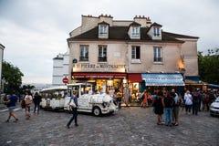Les rues de Montmarte près du Sacre-Coeur photo libre de droits