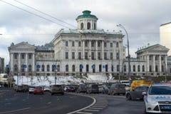 Les rues de Moscou Image libre de droits
