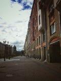 Les rues de St Petersburg Images libres de droits