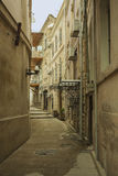 Les rues du centre urbain de Bakou, Azerbaïdjan Photographie stock
